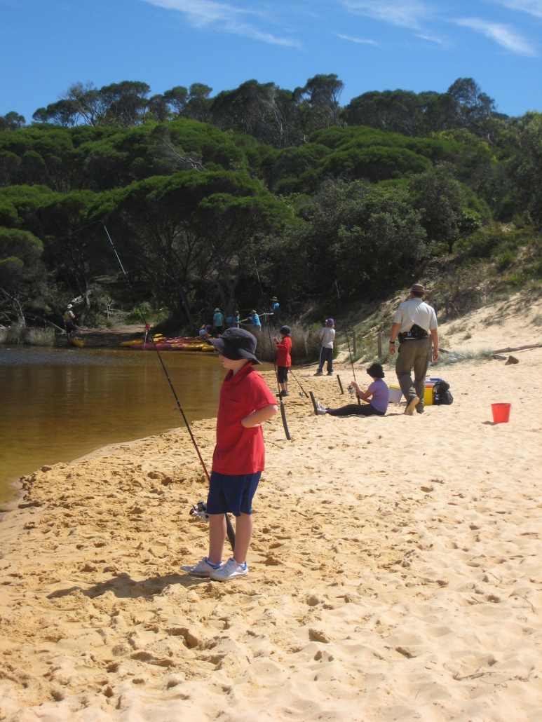 fishing at the Lagoon (catch & release)