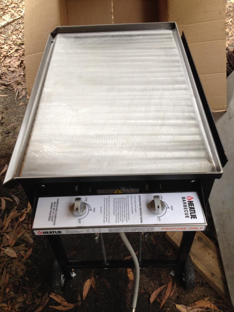 New barbeque for Bournda EEC