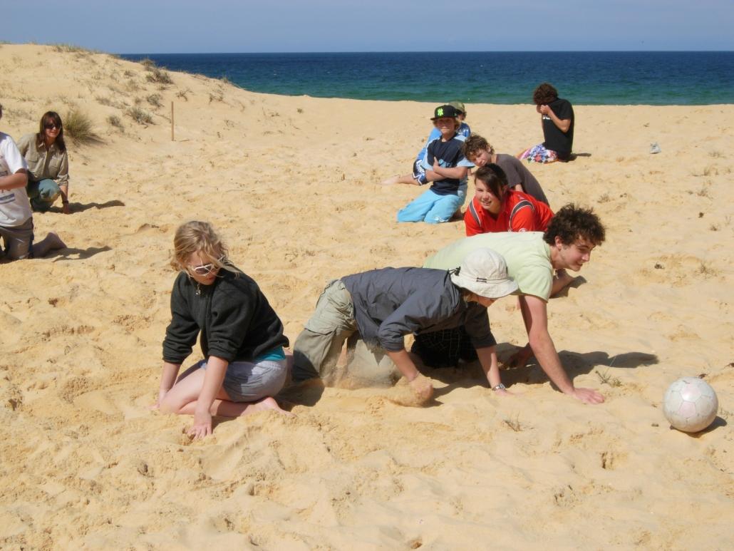 CDAT beach games