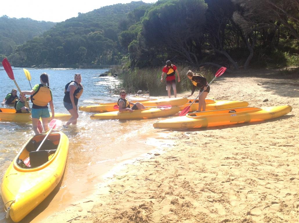 CDAT Kayaking