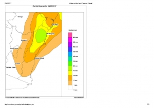 Water and the Land_ Forecast Rainfall Wed 8th Feb