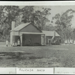 Bournda North School in the 1900's