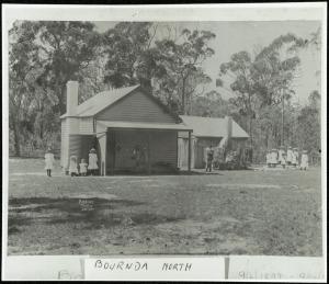 Bournda North School in the 1900's