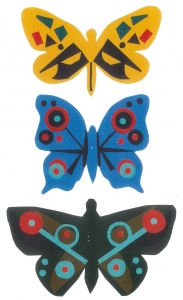 artwork of butterflies