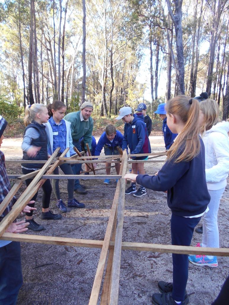 Building the Da Vinci Bridge Fun with STEM