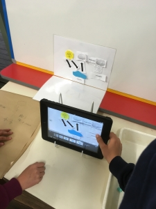 Water cycle animation with the Waste Warriors program