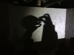 Shadow hand puppets