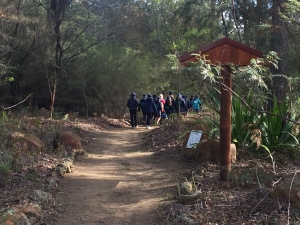 On the bush tucker trail at Jigamy.