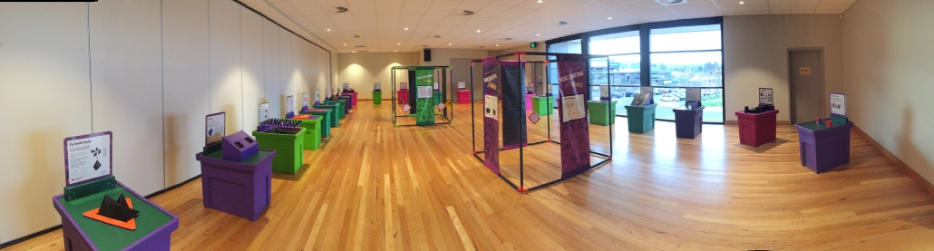 Questacon display at the Bega Valley Commemorative Civic Centre
