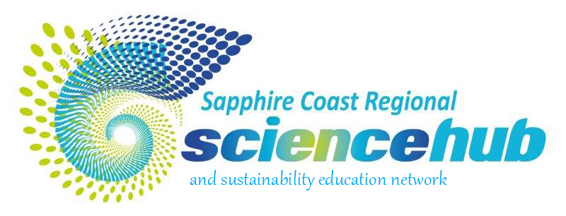 Logo of the Sapphire Coast Regional Science Hub Sustainability Education Network