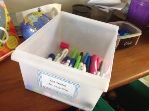 Texta recycling at school