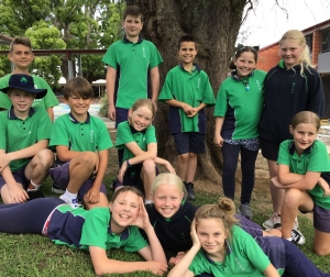 Bega Valley Bin Bombers - picture of students